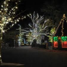 rock city u0027s enchanted garden of lights in lookout mountain ga