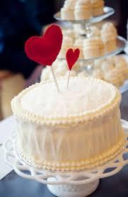 cute heart wedding cake topper valentine wedding let u0027s eat