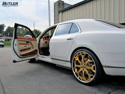 gold bentley mulsanne bentley mulsanne with 24in 24k gold forgiato capolavaro wheels 6