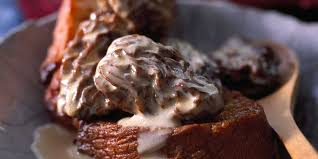 cuisiner les morilles fraiches morilles à la crème facile recette sur cuisine actuelle