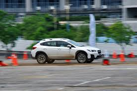 subaru crosstrek matte green new subaru xv launched in taiwan ckd in 4q2017 autoworld com my