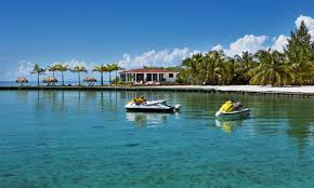 belize exclusive private island resort set for grand re opening