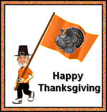 happy turkey day animated thanksgiving dinner clip pictures