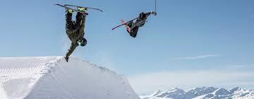 laax skiing and snowboarding in switzerland