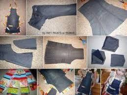comment faire un tablier de cuisine tabliers en jean s recyclés par le de cesclo2 patchwork et tissus