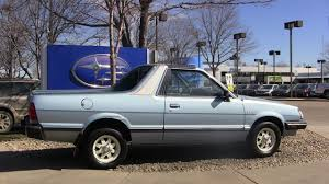 Photo Of The Day What A Nice Subaru Brat The Fast Lane Truck