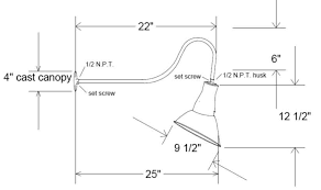 gooseneck light fixtures for signs gooseneck light fixtures cad lighting designs