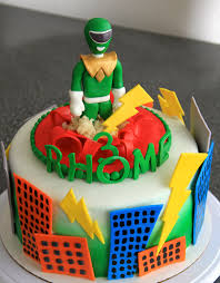 power rangers cake toppers power ranger cakes decoration ideas birthday cakes