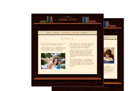 book club template pack from serif com