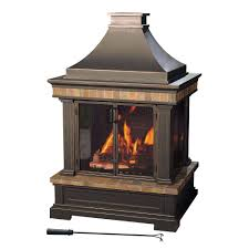 inspirations lowes outdoor propane fireplace chiminea lowes