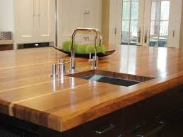 Diy Wood Kitchen Countertops by Wooden Kitchen Countertops Cost Black Glass Kitchen Backsplash