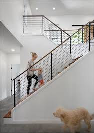metal landing banister and railing stunning stair railings centsational girl staircases stair
