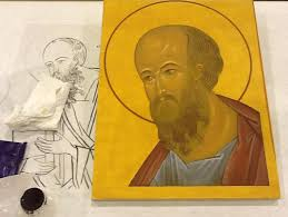 painting an icon the hexaemeron workshop u2013 orthodox arts journal