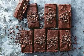 these raw hazelnut brownies have a secret protein packed