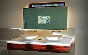 Bathroom Mirror With Tv by Mirror Televisions Residential Projects Glass Tek Glass Tek