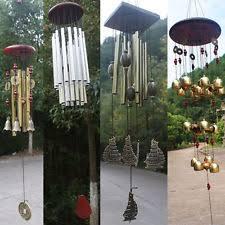 wood wind chimes ebay