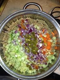 Cold Pasta Salad Recipe How To Make Cold Chicken Pasta Salad Recipe Snapguide
