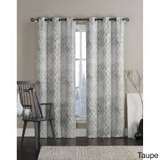 Curtains 46 Inches Vcny Andreas Grommet Top 84 Inch Curtain Panel Pair Free