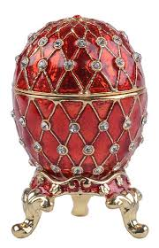 egg ornaments faberge egg jewelry trinket box pewter ornaments id 8563186