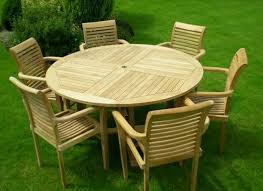 wall mounted patio table teak wood patio furniture set round table and chair wooden intended