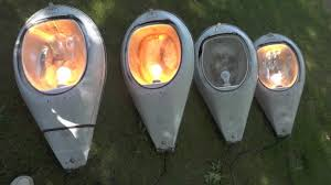 Mercury Vapor Light Fixtures 175 Watt by 4 Mercury Vapor Mv Ge M400 Street Lights Youtube