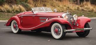 classic red mercedes ultra rare mercedes benz featured at gilmore car museum thru april
