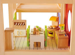 dollhouse furniture kitchen hape wooden doll house furniture kitchen set with accessories