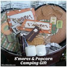 Camping Gift Basket S U0027mores U0026 Popcorn Camping Gift Diy Life With Lorelai