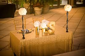 modern white black and gold wedding every last detail