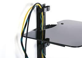 invision gehärtetes komponenten regal mit amazon de elektronik
