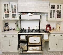 retro kitchen furniture antique stoves historic charm and elegance in the kitchen
