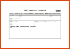 siop lesson plan template moa format