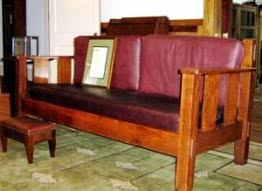 Stickley Mission Sofa by History And Value Of Stickley Furniture Gustav Stickley L U0026jg