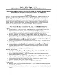 social work resume examples federal work resume template work