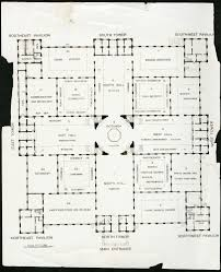 floor plan of the arts u0026 industries building united states