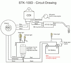 cdi wiring diagram motorcycle diagrams wenkm com