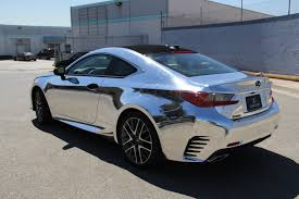 lexus matte white lexus rc 350 f sport avery black chrome u2013 impressive wrap