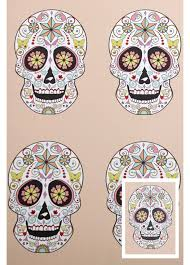 skull wrapping paper sugar skull wrapping paper tag attitude clothing