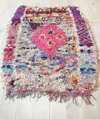 diy moroccan boucherouite rug crafty things pinterest