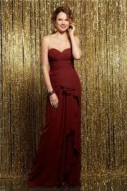 burgundy dress for wedding guest sweetheart burgundy chiffon ruffle wedding guest bridesmaid dress