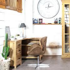 petit bureau bois bureau d angle bois bureau dangle imitation chane shannon terre de