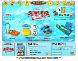 surf u0027s up 2 wavemania is now at carl u0027s jr and hardee u0027s