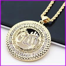 religious necklaces allah arab arabic pendant necklaces muslim islam religious jewelry