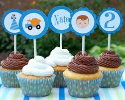 personalized cupcake toppers personalized cupcake toppers for kids birthday and baby