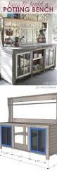 Pvc Patio Furniture Plans - 25 best potting bench plans ideas on pinterest potting station