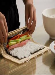 cuisine roller sushi rice roll maker bamboo tool roller kit diy chicuu