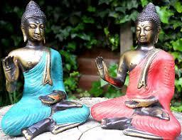 amazing bronze figure buddha medium 14 cm new design indonesia