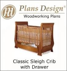 Plans For Baby Crib by Build Your Own Bed Woodworking Plans