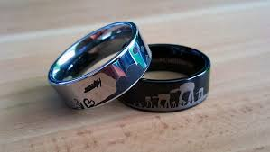wars wedding rings wars wedding rings futuristic idea for your marriage