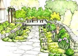 awesome english garden design plans design decor lovely english